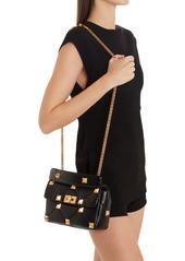 Valentino Garavani Medium Roman Stud Matelassé Leather Shoulder Bag