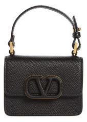 Valentino Garavani Micro VLOGO Leather Top Handle Bag