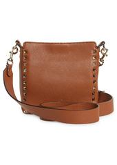 Valentino Garavani Mini Rockstud Hobo Crossbody Bag