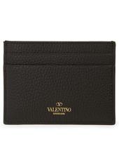 Valentino Garavani Rockstud Leather Card Holder