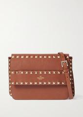 Valentino Garavani Rockstud Textured-leather Shoulder Bag