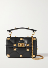 Valentino Garavani Roman Stud Quilted Leather Shoulder Bag
