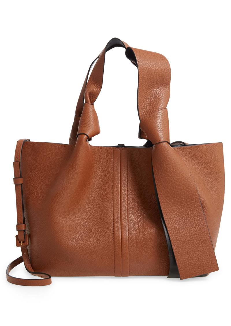 Valentino Garavani Small Atelier Bow Leather Tote