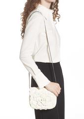 Valentino Garavani Small Atelier Rose Leather Shoulder Bag