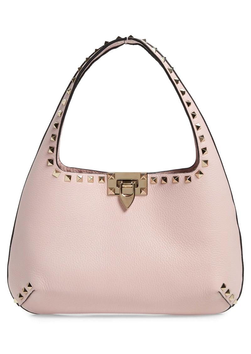 Valentino Garavani Small Rockstud Leather Handbag