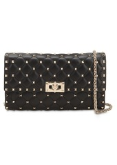Valentino Studded Leather Clutch