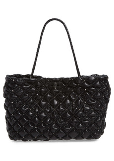 Valentino Garavani SpikeMe Quilted Leather Tote