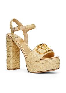 Valentino Garavani VLOGO Woven Platform Sandal (Women)