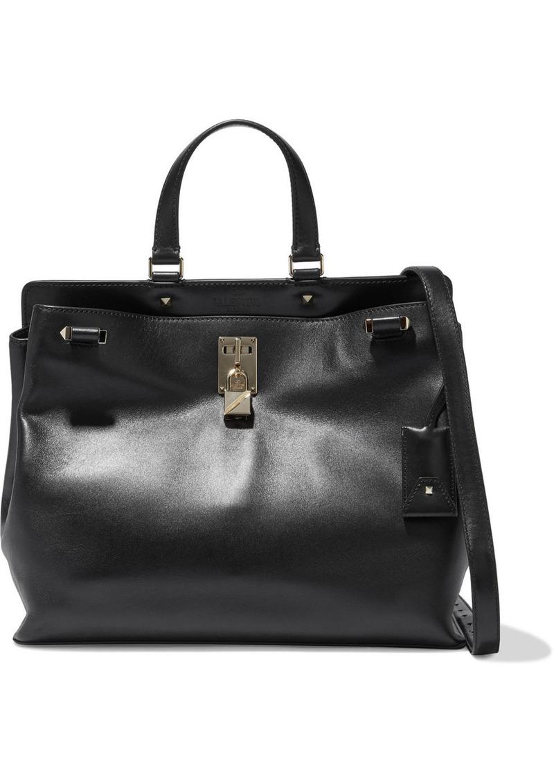 Valentino Garavani Woman Joylock Leather Tote Black