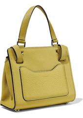 Valentino Garavani Woman Joylock Textured-leather Shoulder Bag Chartreuse
