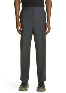 Valentino Pleated Wool Blend Dress Pants