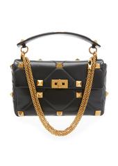 Valentino Roman Stud Large Leather Shoulder Bag