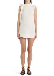 Valentino Ruffle Silk Minidress