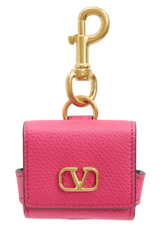 Valentino VLOGO Leather AirPod Case