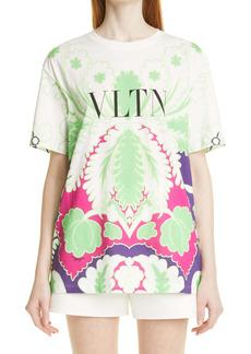 Valentino VLTN Logo Print Graphic Tee