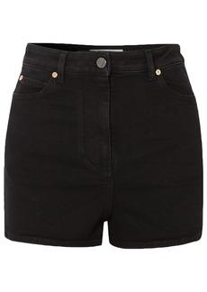 Valentino Woman Denim Shorts Black