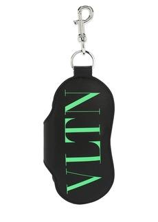Valentino Vltn Logo Sunglasses Case & Key Holder