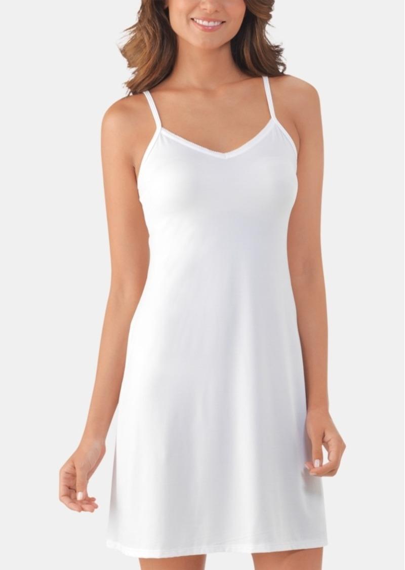 Vanity Fair Lace V-Neck Full Daywear Slip 10141