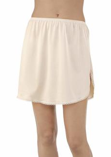 Vanity Fair Women's Anti-Static Nylon Half Slip for Under Dresses Single Slit-20 Length-Neutral