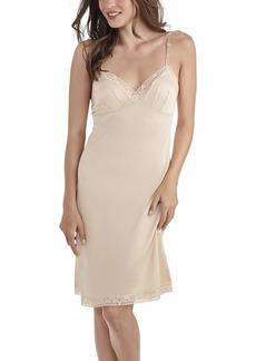 """Vanity Fair womens for Under Dresses Full Slip Lace - 26"""" Neutral  US"""