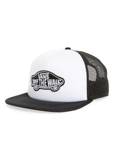 Men's Vans Classic Patch Trucker Hat - White