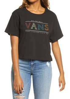 Vans Kaced Women's Crop Graphic Tee