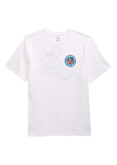 Vans x Where's Waldo? Kids' Stamp Graphic Tee (Big Boy)