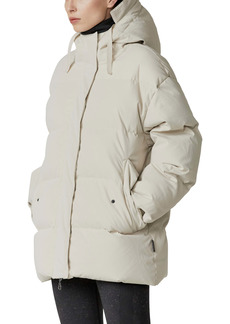 Varley Gretna Hooded Down & Feather Fill Coat