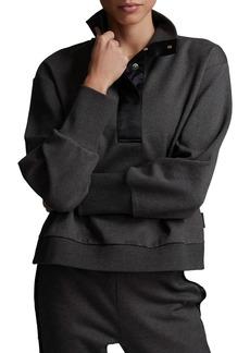 Varley Huston Rib Half Zip Pullover
