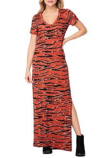 Velvet by Graham & Spencer Geo Print Pocket Maxi Dress
