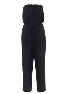 Velvet by Graham & Spencer Georgie strapless cotton jumpsuit