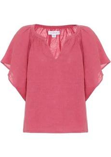 Velvet by Graham & Spencer Kalila linen blouse