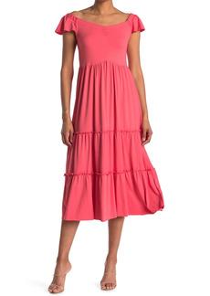 Velvet by Graham & Spencer Maxi Tiered Dress