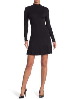 Velvet by Graham & Spencer Mock Skater Dress