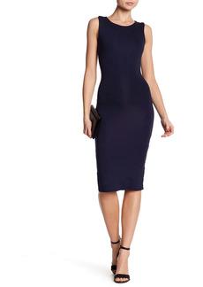 Velvet by Graham & Spencer Racerback Bodycon Midi Dress