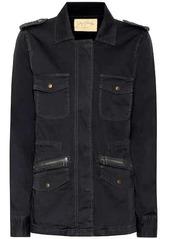 Velvet by Graham & Spencer Ruby cotton military jacket