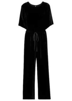 Velvet by Graham & Spencer Sivian wide-leg velvet jumpsuit