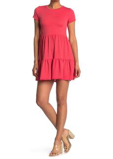 Velvet by Graham & Spencer Texture Babydoll Dress
