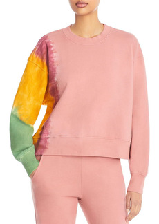 Velvet by Graham & Spencer Cotton Tie Dyed Sweatshirt