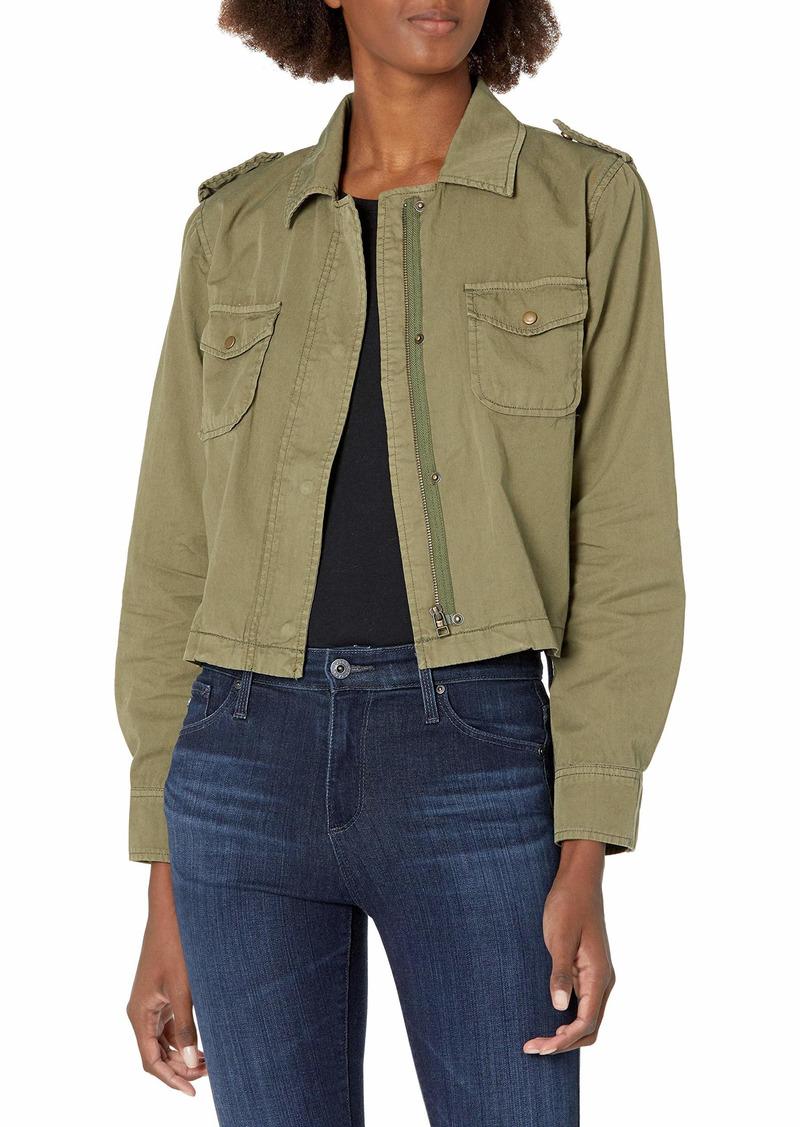 Velvet by Graham & Spencer Women's Dixie Army Jacket  L