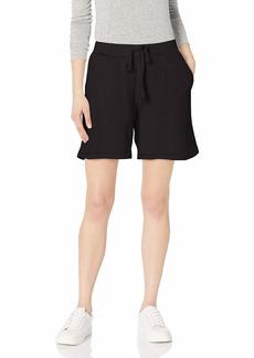 Velvet by Graham & Spencer Women's Laguna Organic Fleece Sweatshort  XL