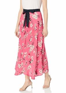 Velvet by Graham & Spencer Women's Susannah Printed Challis Skirt  M
