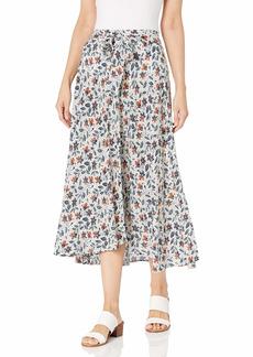 Velvet by Graham & Spencer Women's Swan Belted Midi Skirt  L