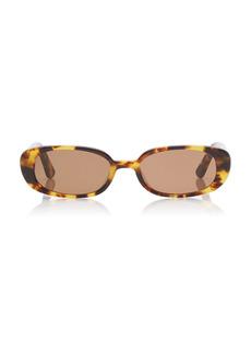 Velvet by Graham & Spencer Velvet Canyon - Women's Zou Bison Tortoiseshell Acetate Sunglasses - Brown - Moda Operandi