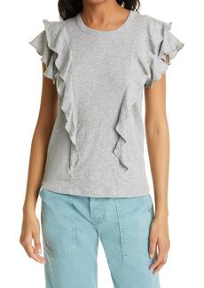 Veronica Beard Bea Ruffle T-Shirt