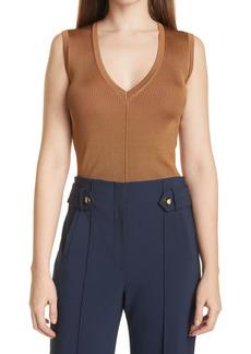 Veronica Beard Brie Sleeveless Sweater