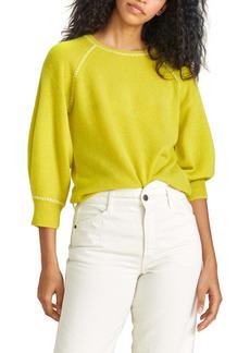 Veronica Beard Char Whipstitch Cashere Sweater