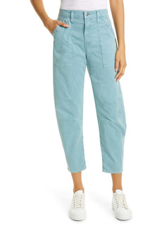 Veronica Beard Charlie Barrel Crop Pants