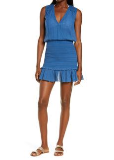 Veronica Beard Cox Sleeveless Cover-Up Dress