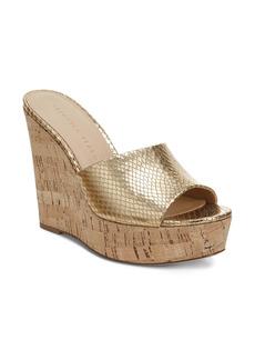 Veronica Beard Dali Platform Wedge Sandal (Women)